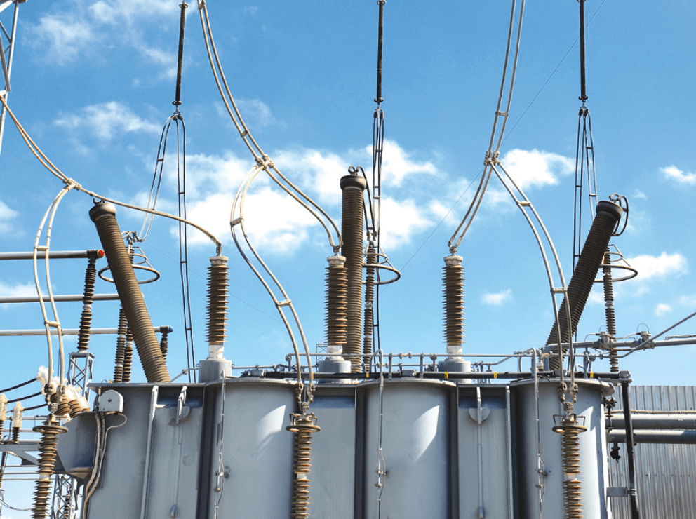 bushings Bushing Technology Review Uneven pollution layer on silicone housed RIP bushing at 400 kV substation