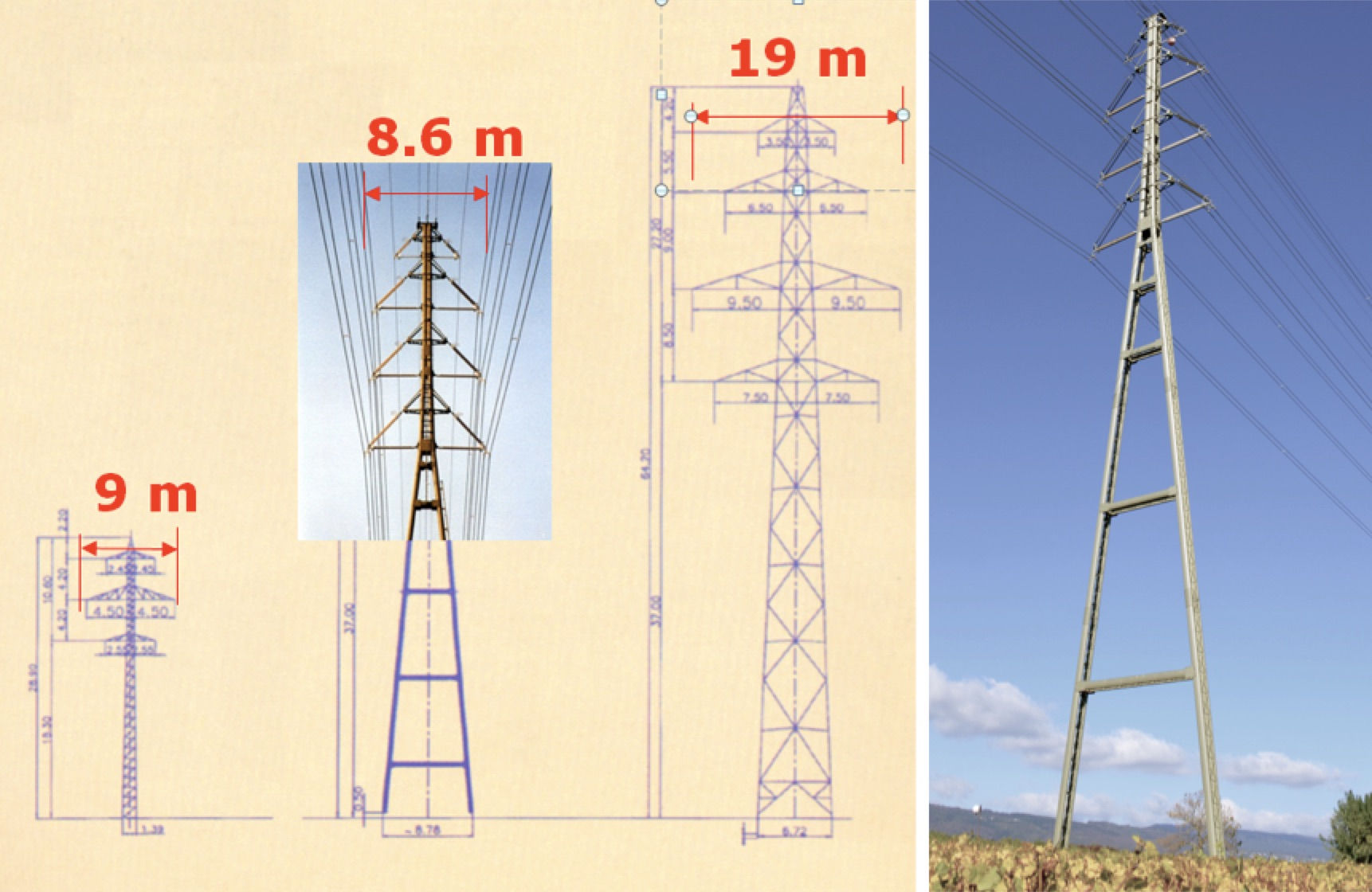 composite insulator Compact Tower Solutions & Line Uprating Fig