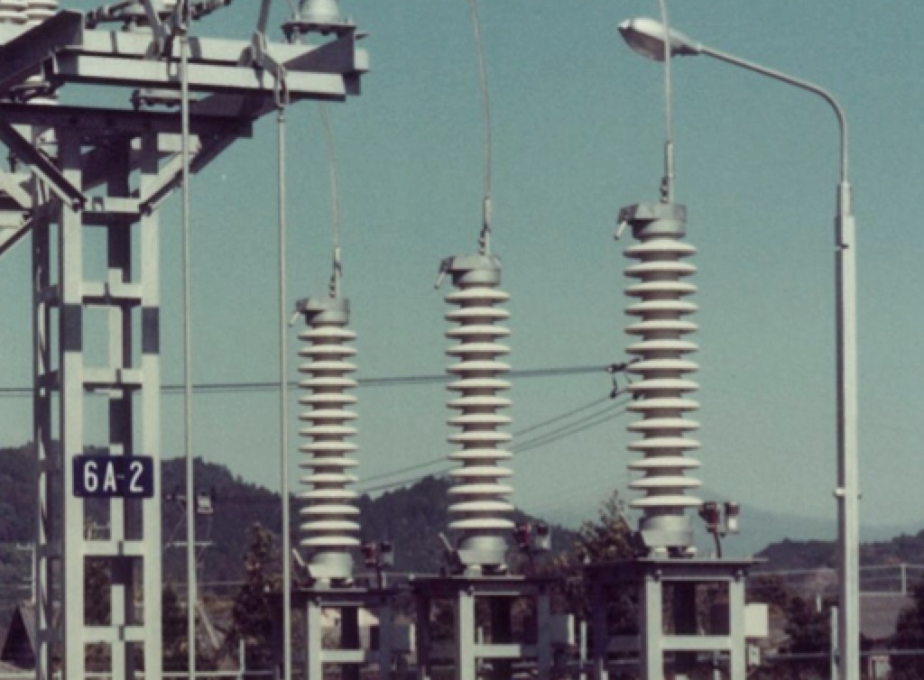 Arrester Technology: Lessons Learned, Developments to Watch World E2 80 99s first installation of MO surge arresters at Hayato Substation in Japan