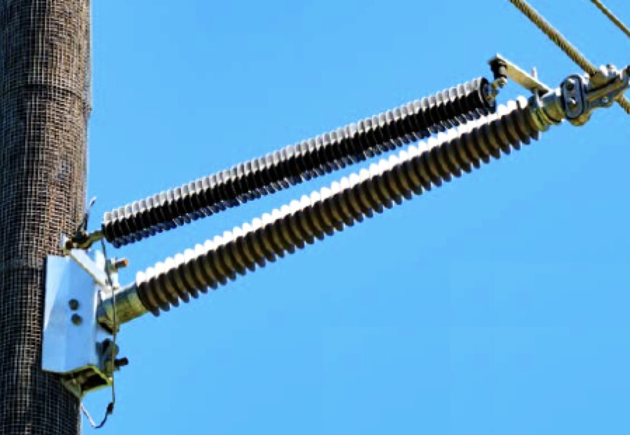 Recommendations to Improve Application of Line Surge Arresters to be Presented at the 2019 INMR WORLD CONGRESS 69 kV line with extra insulation to accommodate climbing space