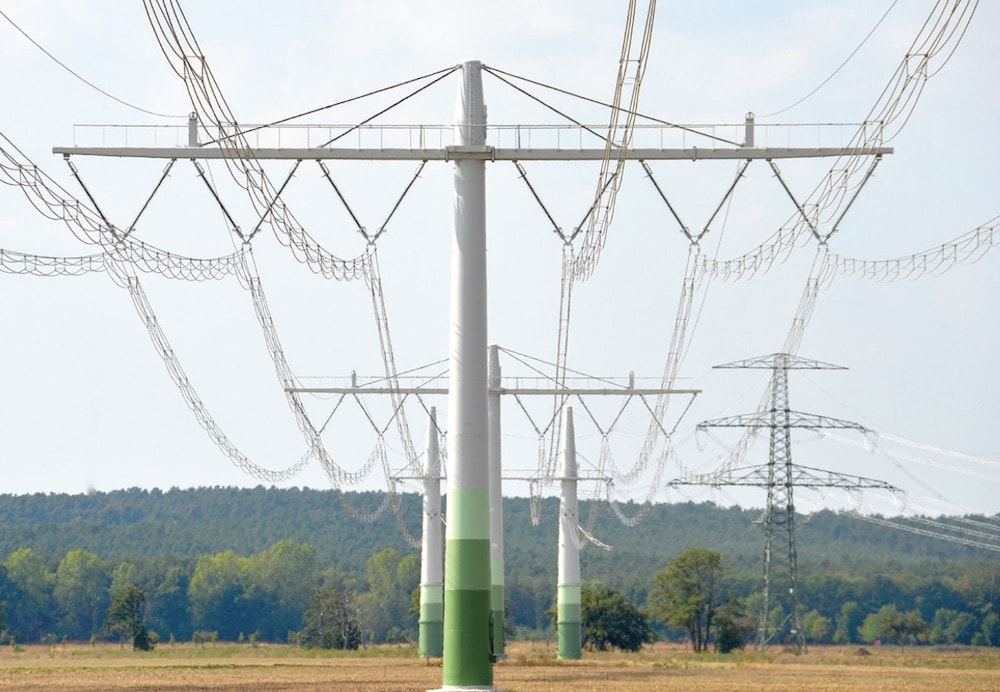 overhead line Implementing a Compact 400 kV Line Fig