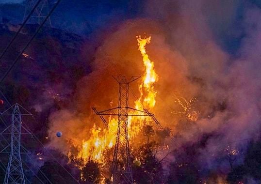Wildfire Hazard to Overhead Lines Wildfire Hazard to Overhead Lines