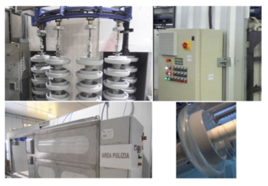 Experience with RTV Coatings in Power Systems Elements of industrial system dedicated to automatic RTV coating