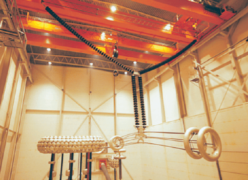 DC Dielectric & Pollution Testing Set up for Y string tested in high voltage hall