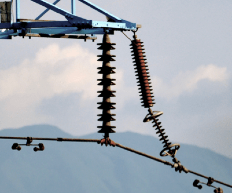 Development & Application of Polymeric Transmission Line Arresters: Experience in China 110 kV line arrester in south China