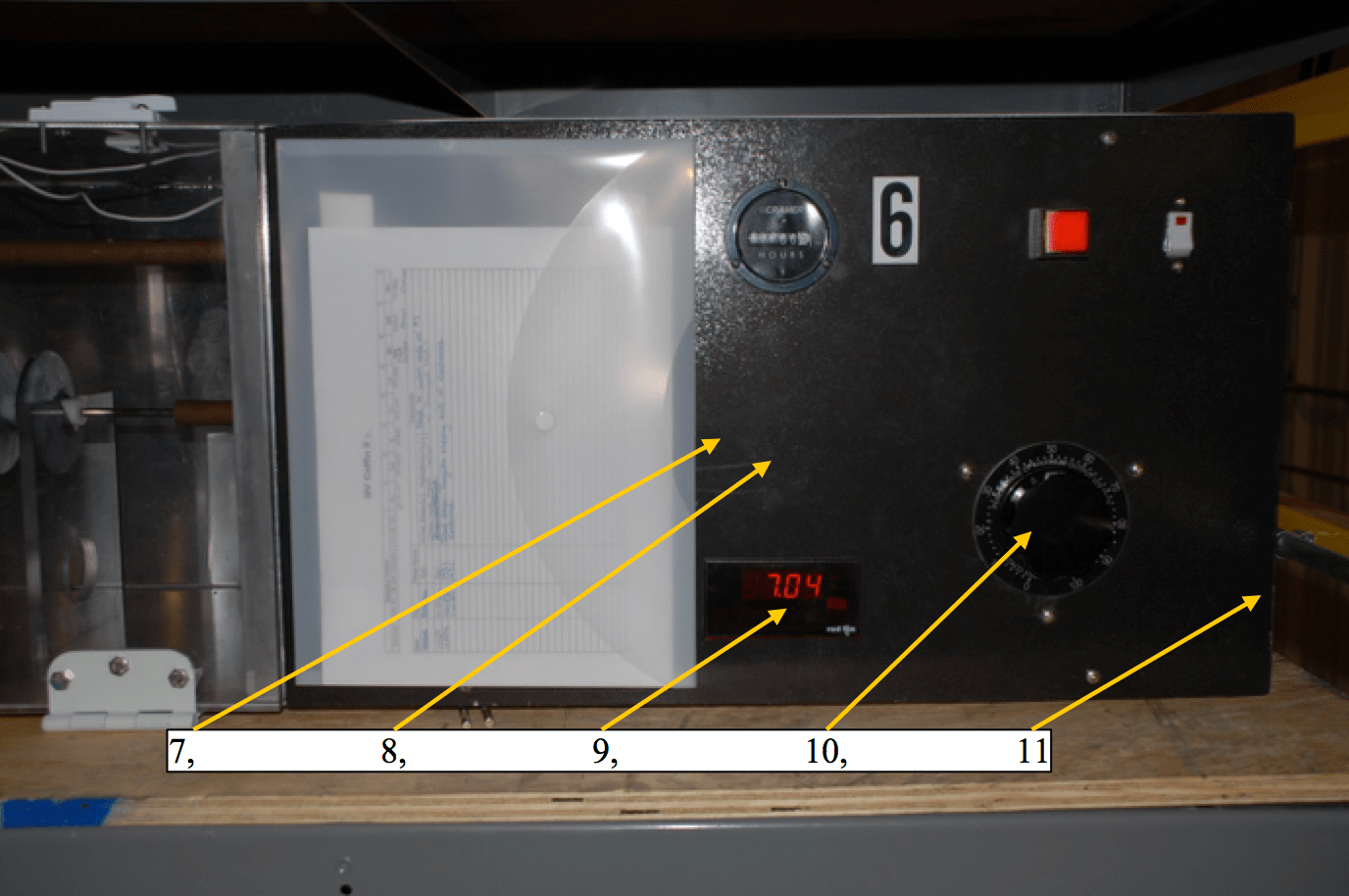 polymer insulator Small-Scale Test Chamber & Criteria for Evaluating Polymer Insulators Control panel