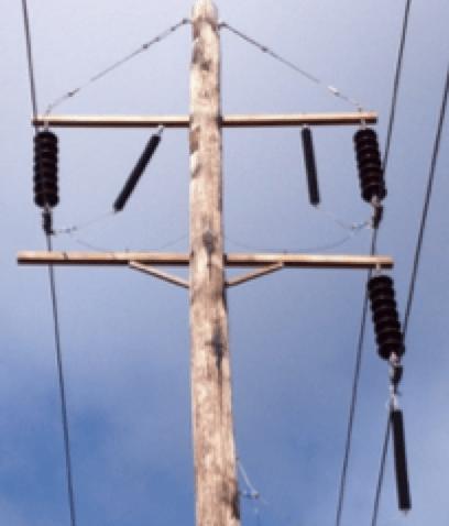 arrester arrester Testing Connection Leads for Transmission Line Arresters EPRIs arrester test installation in Lenox