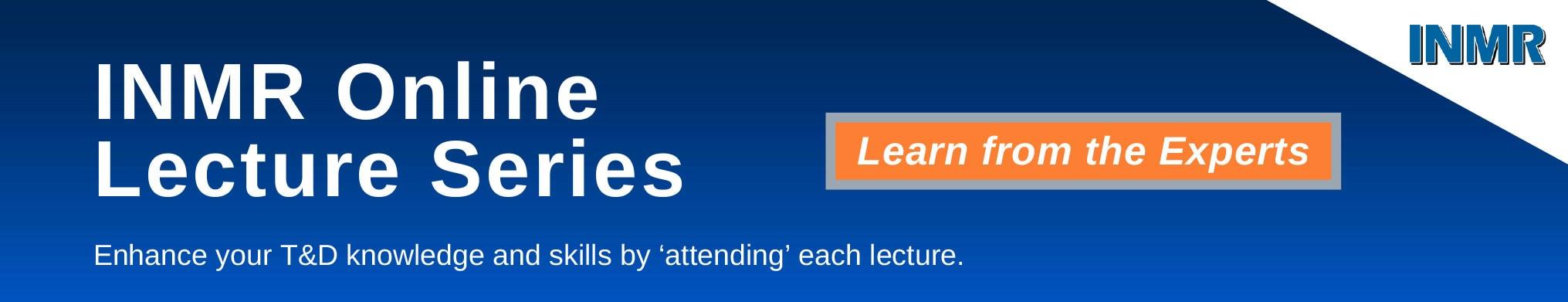 INMR Online Lecture Series