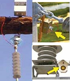 Example of single-channel devices for leakage current monitoring: South Africa (left), United States (right). Photo taken from ISH paper D-3, 2009). pollution monitoring Pollution Monitoring Principles for Better Selection of Insulators in Contaminated Service Conditions (Part 2 of 2) Topic 4 Aug31 101
