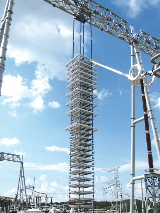 converter station UHV Converter Station Showcased Latest Equipment & Insulator Technologies Pic1212