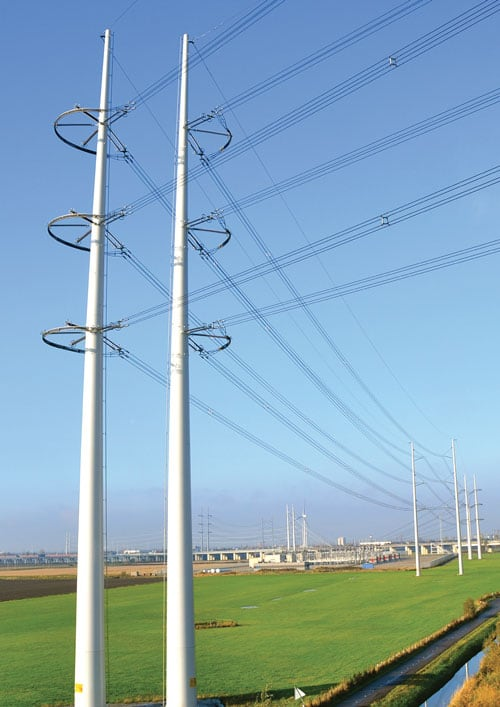Elegant Power Line transmission structure The World's Remarkable Transmission Structures Pic10