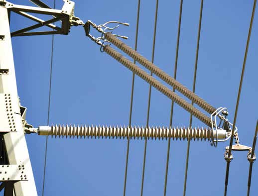 insulator assembly on upgraded 400 kV compact line. compact design allowed line upgrade under severe restrictions Compact Design Allowed Line Upgrade Under Severe Restrictions Topic 1 Nov 10 Weekly 2