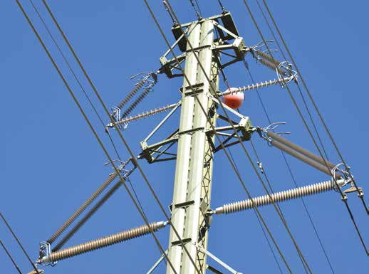 Insulator assembly on upgraded 400 kV compact line. compact design allowed line upgrade under severe restrictions Compact Design Allowed Line Upgrade Under Severe Restrictions Topic 1 Nov 10 Weekly 4