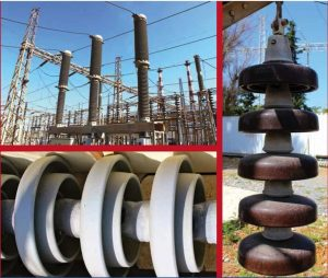 Alternative formulations of RTV silicone coatings have been applied to line and substation Non-energized string on selected towers used insulators to establish which perform best. to collect ESDD and NSDD measurements. test station Expanded Test Station Helps Greek Power System Operator Assess Insulator Design & Performance pt1 alternat 300x253