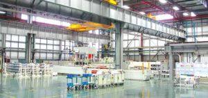 View towards single shot molding machine at Kunshan. new plant targets growing market for composite hollow core insulators New Plant Targets Growing Market for Composite Hollow Core Insulators Topic 1 Jan 180011 300x141