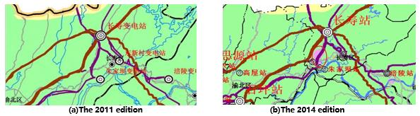 Example of pollution severity map adjustment in Changshou-Yanjia chemical industrial zone. pollution severity Classifying Pollution Severity for HVAC & HVDC in China tpc2 fig9