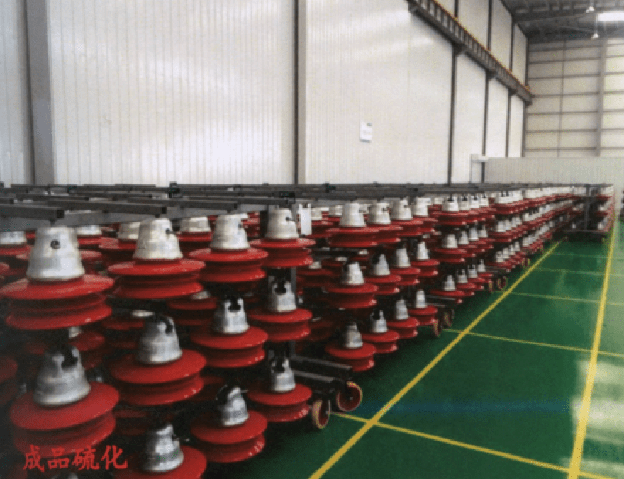 rtv silicone Coating Insulators with RTV Silicone in the Factory insulators