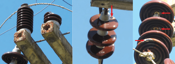 The insulators in these images show typical outcomes of vandalism. tropical paradise, yes but not for overhead distribution Tropical Paradise, Yes but Not for Overhead Distribution Screen Shot 2016 03 10 at 9
