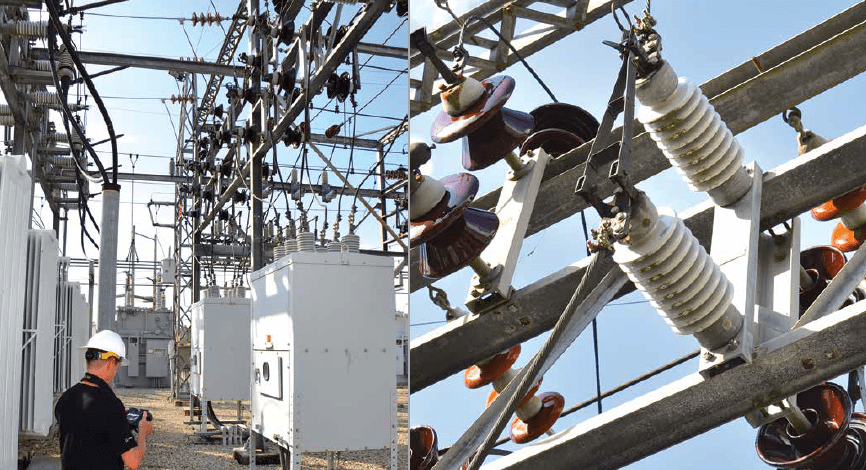 Hoth inspects distribution switches, a common area for 'hot spots'. CLICK TO ENLARGE substation Case Study of Thermal Inspection to Prioritize Maintenance Needs at Substation Screen Shot 2016 11 18 at 13