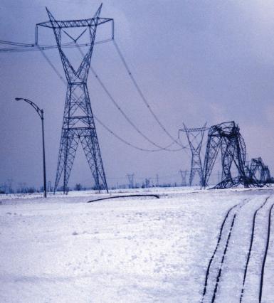 HV line and substation insulation.