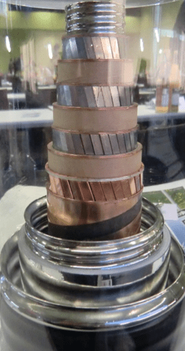 Sample of 10 kV (40 MVA) high temperature superconductor cable installed in 2014 in Essen, Germany. [object object] Cable & Accessory Design: MV to EHV Screen Shot 2016 04 28 at 3