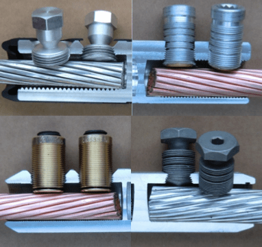 Different connector and sheer bolt solutions for medium voltage cable.  [object object] Cable & Accessory Design: MV to EHV Screen Shot 2016 04 28 at 3