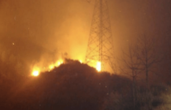 Wildfire Hazard to Transmission Lines