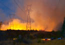 transmission line Wildfire Hazard to Transmission Lines fire tranmission tower 130x90