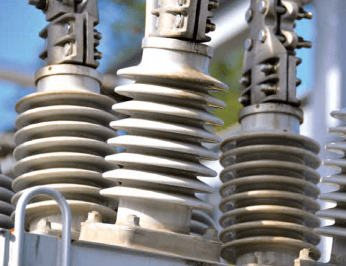 Bushings, such as these unprotected units on distribution equipment up to about 38 kV are most at risk of wildlife-induced damage. wildlife protect Wildlife Protective Devices Aim to Reduce Outages Screen Shot 2016 06 10 at 13