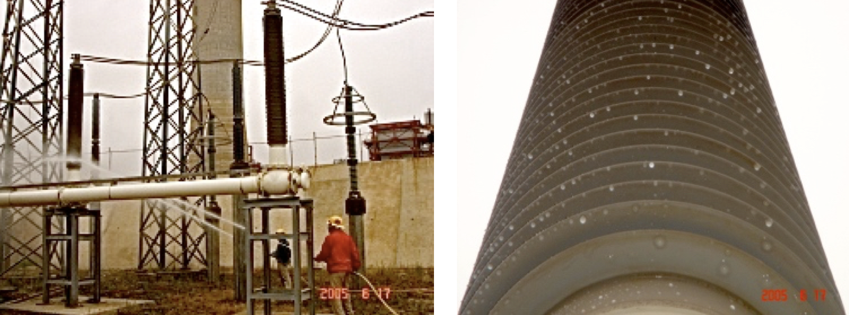 Fig. 13: 230 kV air - GIS bushing. housed bushings Polymeric Housed Bushings: Utility Viewpoint in a Regulated Market Screen Shot 2016 06 17 at 10