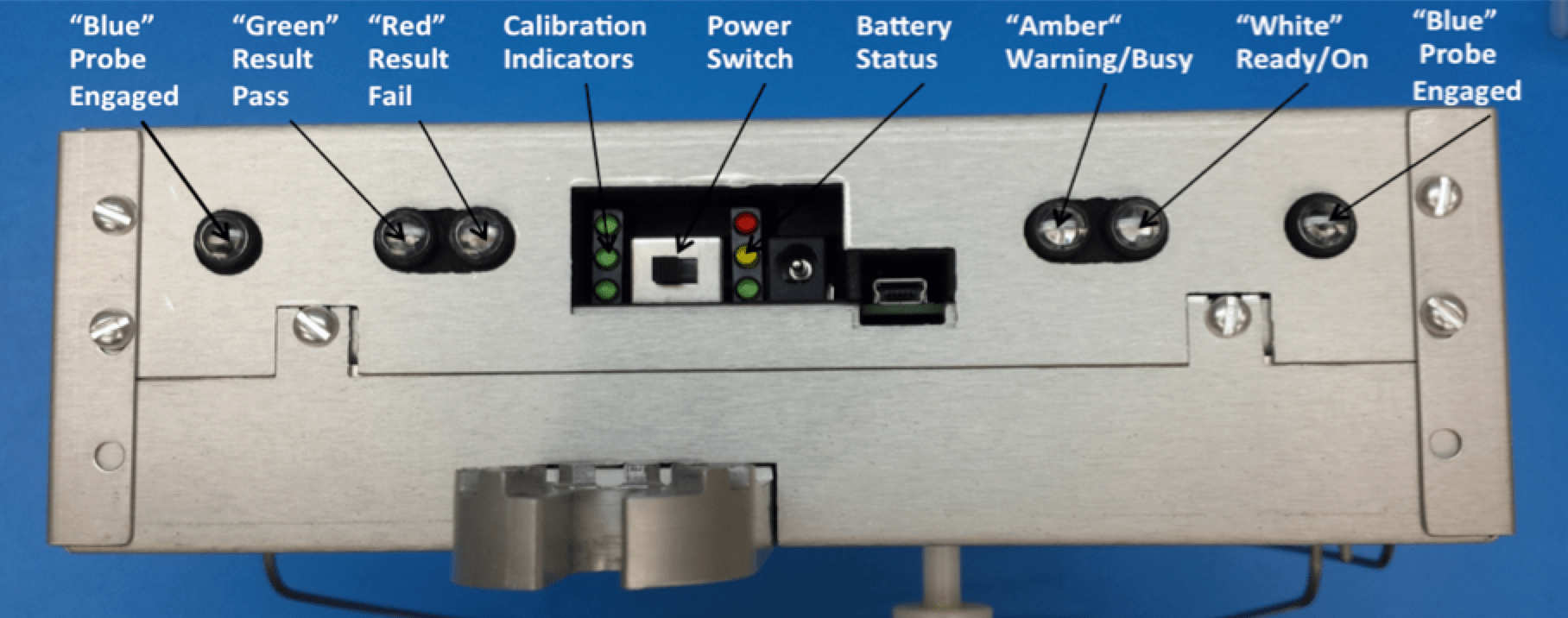 Figure 2: Back View of Indicating Lights and Power Switch polymeric insulator Testing Polymeric Insulators at Transmission Voltages Screen Shot 2016 07 08 at 09