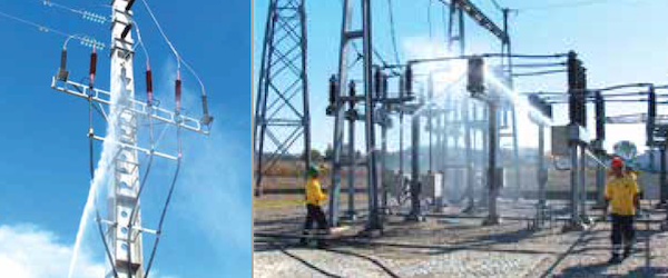 CLICK TO ENLARGE edp Portuguese Utility Aims to Enhance Green Image & Reliability KPIs Example of poorly performing pin discs affecting 30 and 60 kV lines in southern Portugal 2