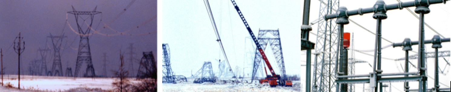 Massive ice storm in 1998 brought down large portion of transmission network across Quebec. Early mechanical failures of towers avoided what might have numerous electrical failures at substations where insulators experienced significant icing. insulator Selection of Insulators with Respect to Icing Screen Shot 2016 10 28 at 13