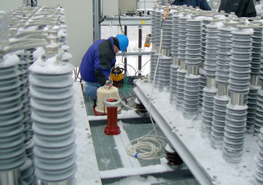 hipot Field Testing Arresters with Hipot Testers inmr5