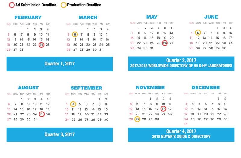 production schedule Production Schedule 2017 Calendar 2017