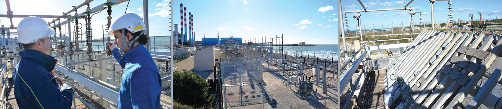Area devoted to testing weathering of insulation material slabs, exposed to heavy pollution and UV. [object object] Mediterranean Test Station Provides Challenging Environment for Electrical Insulation Area devoted to testing weathering of insulation material slabs exposed to heavy pollution and UV