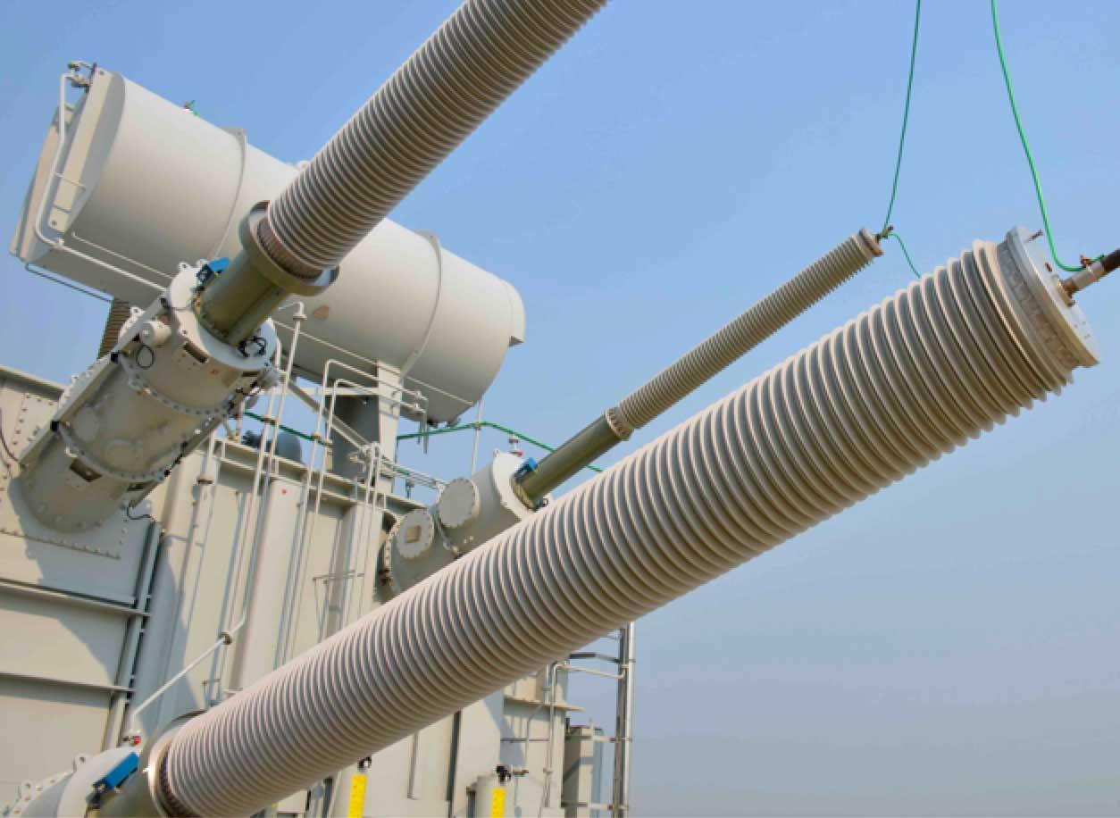 Bushing Technology Review: Designs & Tendencies Transformer bushings HVDC substation