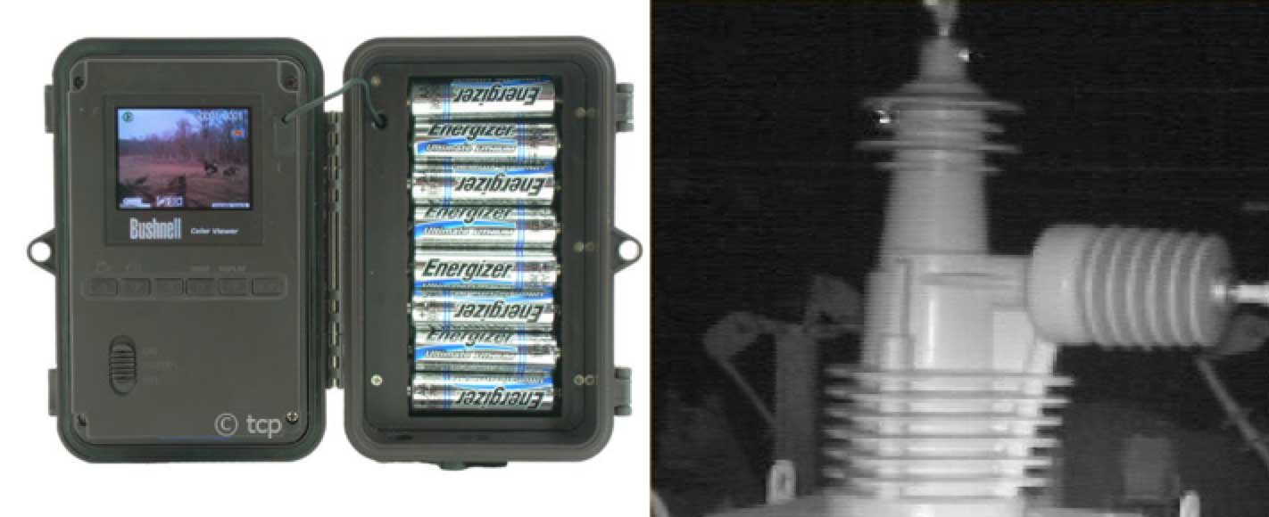 composite insulator Comparison of Methodologies to Detect Damaged Composite Insulators Example of nightday camera intended to observe animals and birds