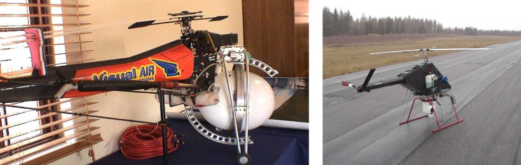 composite insulator Comparison of Methodologies to Detect Damaged Composite Insulators Examples of mini helicopters
