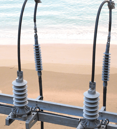 Creepage distance can be a critical parameter depending on where arrester is located and types of service conditions to which it will be exposed.