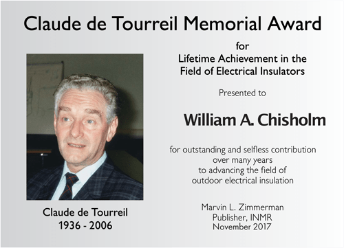 INMR Claude de Tourreil Memorial Award claude de tourreil 2017 Claude de Tourreil Memorial Award 2017 Award Plaque Topic 6