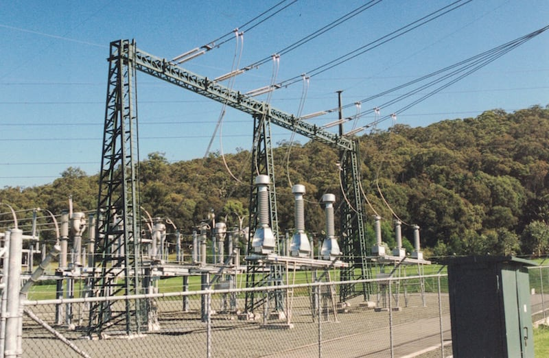 substation Substation Focused on Environmental Design Portal structures at 330 kV and 132 kV