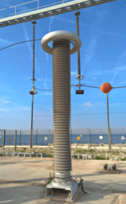 Composite Hollow Core Insulator [object object] Pollution Performance of Composite Hollow Core Insulators Insulator in long term outdoor test