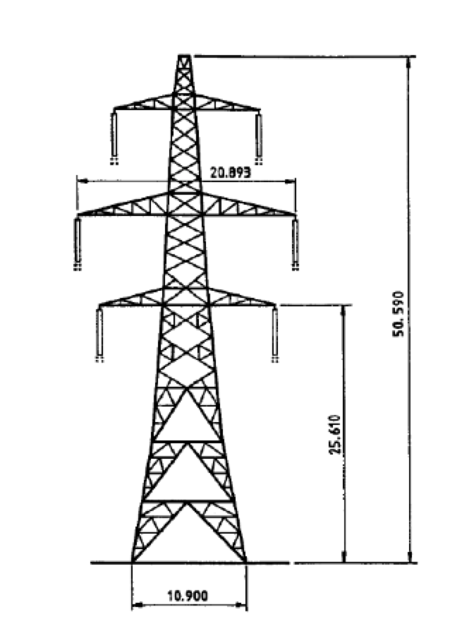 arrester Arrester Protection Distances at Substations L6 tower dimensions