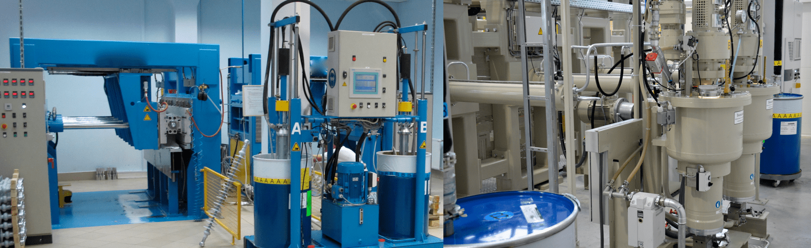 [object object] Chemistry & Properties of Silicones Drums of LSR two component materials supply insulator molding machine