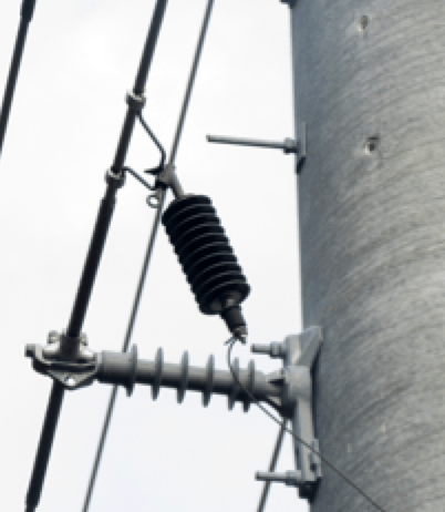 distribution system Best Practice in Lightning Protection for Distribution Systems Suspension mounting of arresters