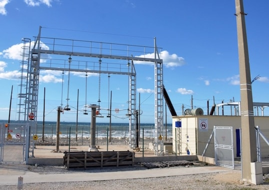 High voltage substations