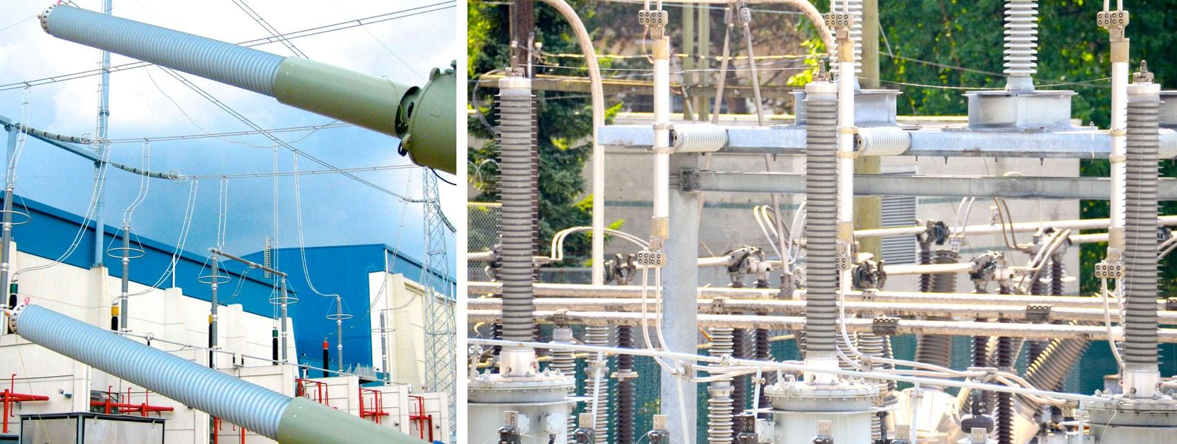 bushings Evaluating Reliability of Bushings RIP transformer bushings at   800 kV Chuxiong Substation in China and at substation in British Columbia