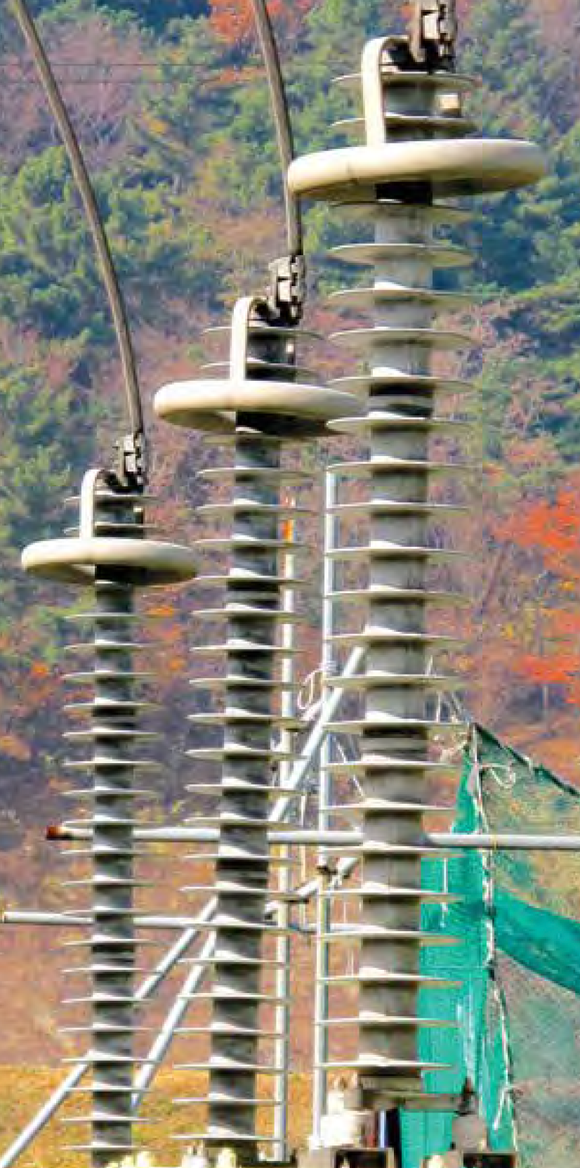 EPDM-housed arresters in service in South Korea. hv arrester Development of Station Class/HV Arrester Technology Screen Shot 2018 09 28 at 18