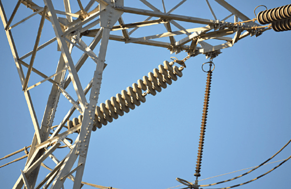 substation insulator Achieving Confidence  in Line & Substation Insulators Shattered RTVcoated glass insulator